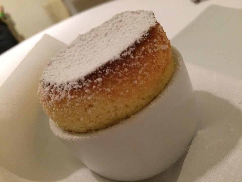 Relais Blu, mini souffle al limone