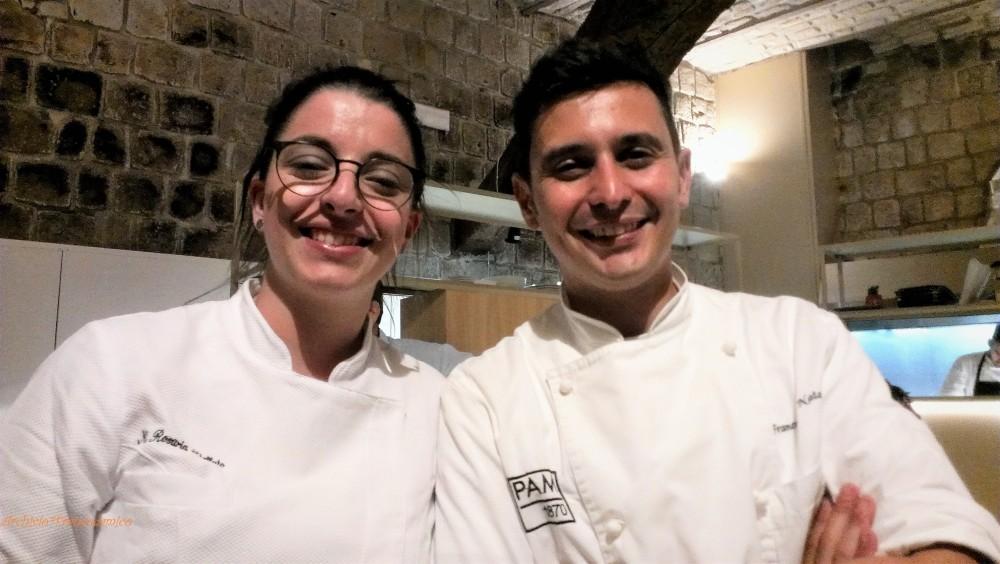 1PAM 1870 chef Francesco Natale e Maria Rosaria Stellato