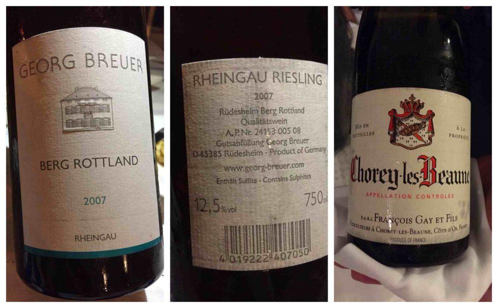 Relais Blu, i vini