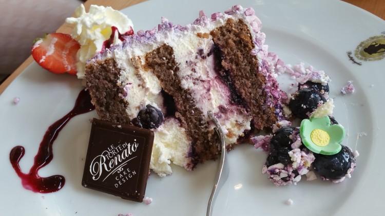 la Blueberry Cake di Le Torte di Renato - Torteria Gran Caffè