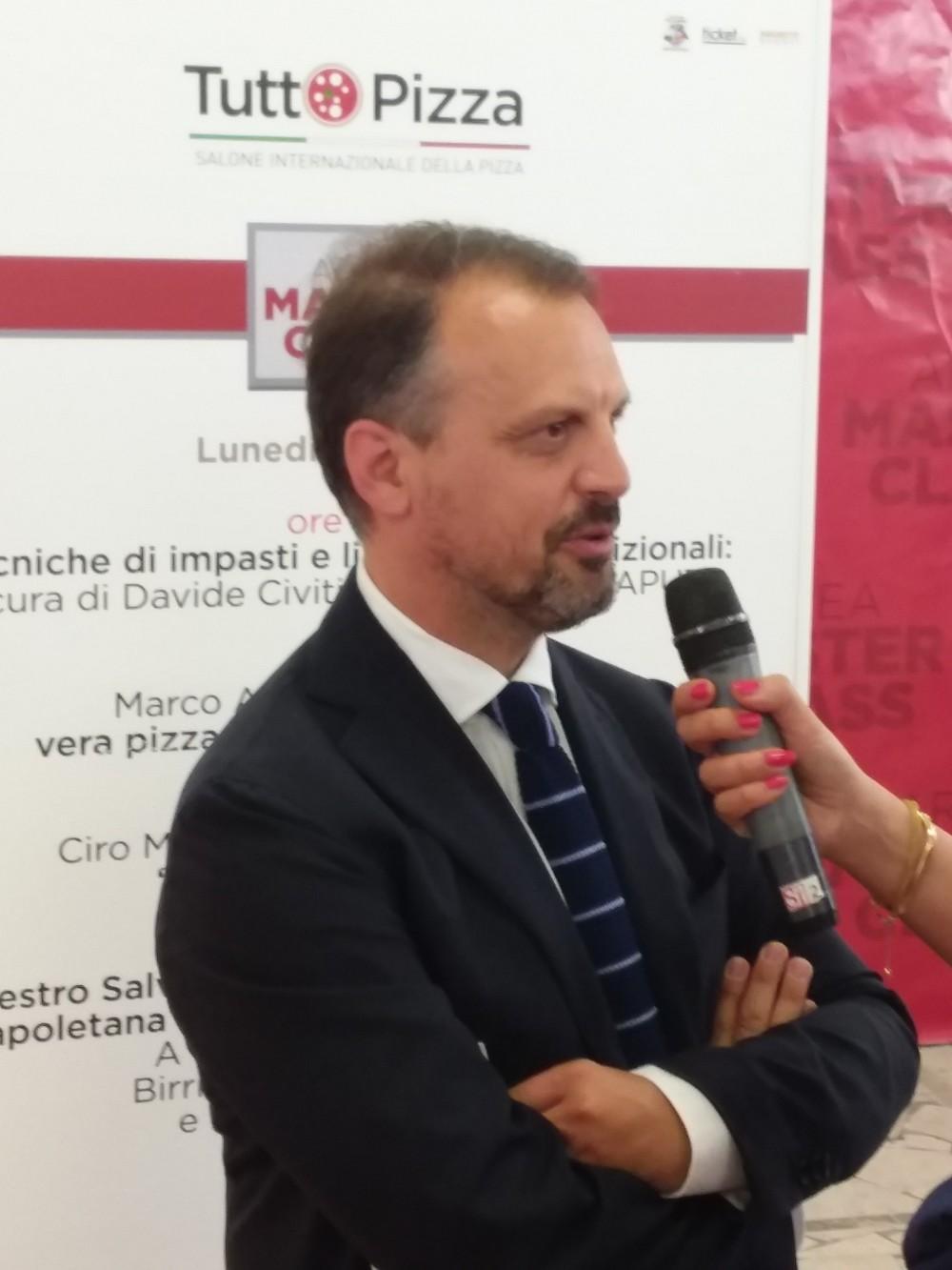 TUTTOPIZZA 2017 Raffaele Biglietto