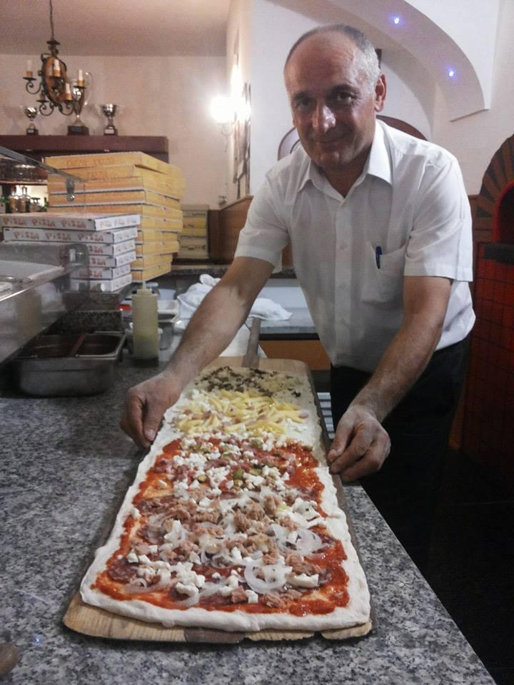 Le vie della pizza di Tramonti -  L'Infinito