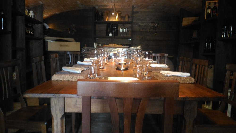 Agriturismo l'Antico Casale - Sala degustazione