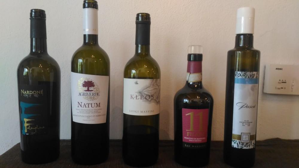 Agriturismo l'Antico Casale - Vini assaggiati ed olio evo di Maria Manuela Russo