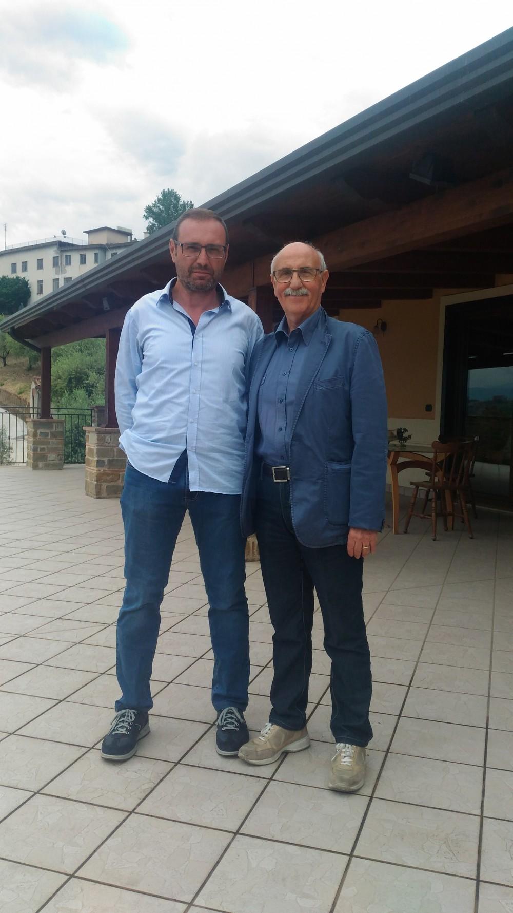 Alfonso Rotolo ed Enrico Malgi