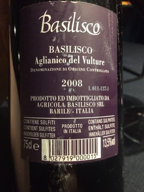 Basilisco 2008