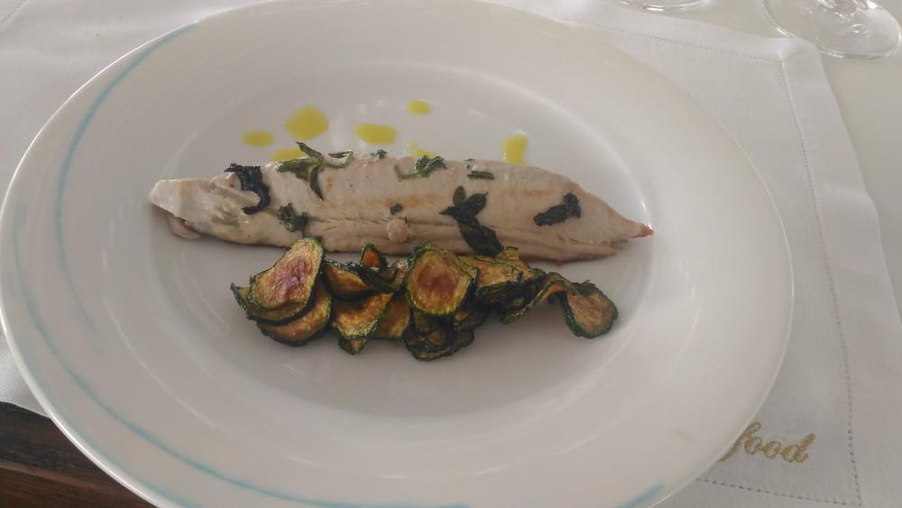 Beach Club 93 - Grigliata di pesce con zucchine alla scapece