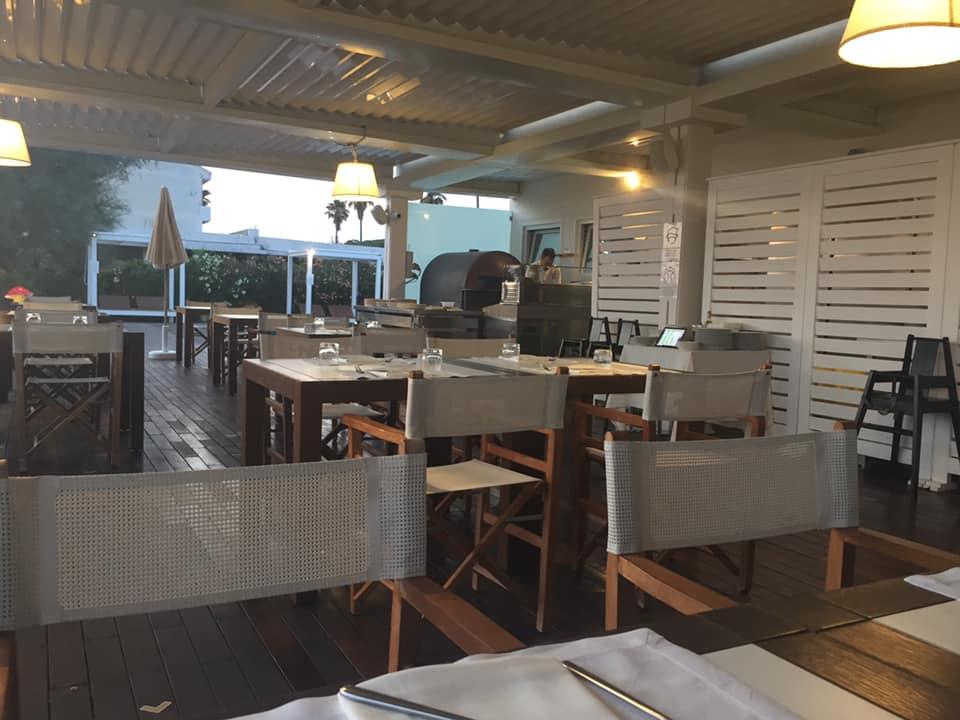 Beach Club 93, la sala verandata