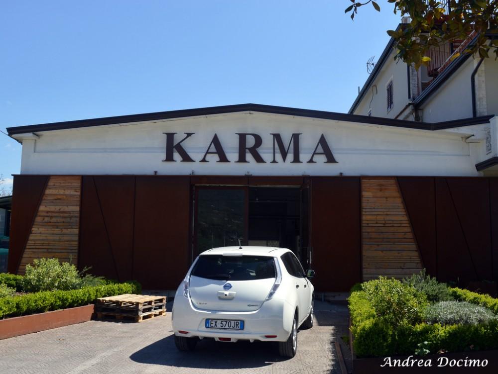 Birrificio Karma di Mario Cipriano ad Alife. L'entrata del birrificio
