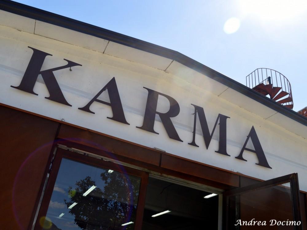 Birrificio Karma di Mario Cipriano ad Alife. L'insegna