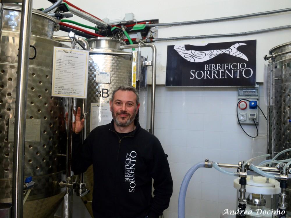 Birrificio Sorrento. Giuseppe Schisano