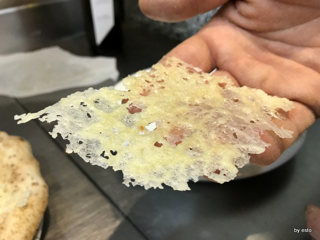 Bruner Alessandro Bruner pizza Delicata chips di grana