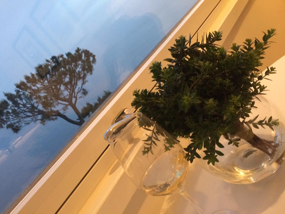 Relais Blu, tavolo con panorama