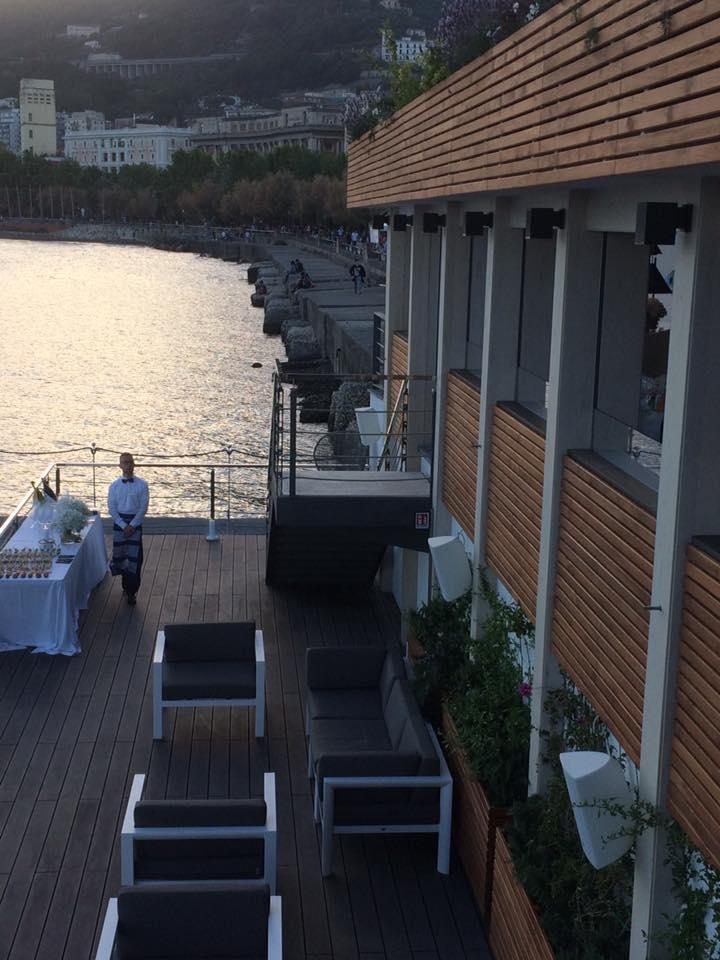 Embarcadero, terrazza a mare