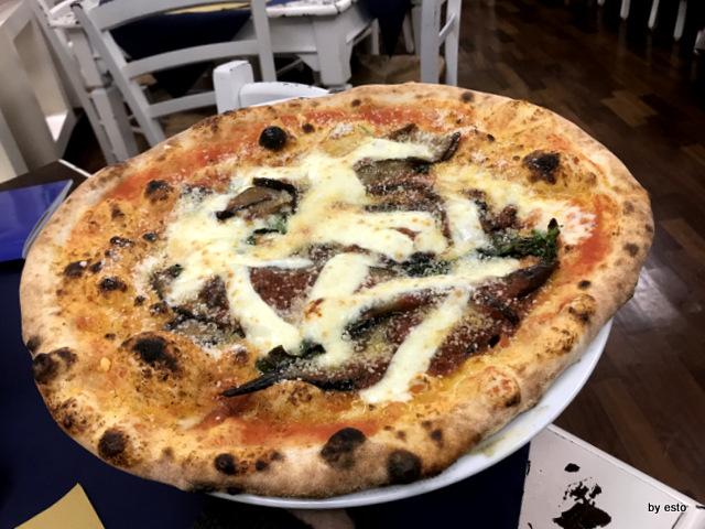 Est Ovest Pizza parmigiosa