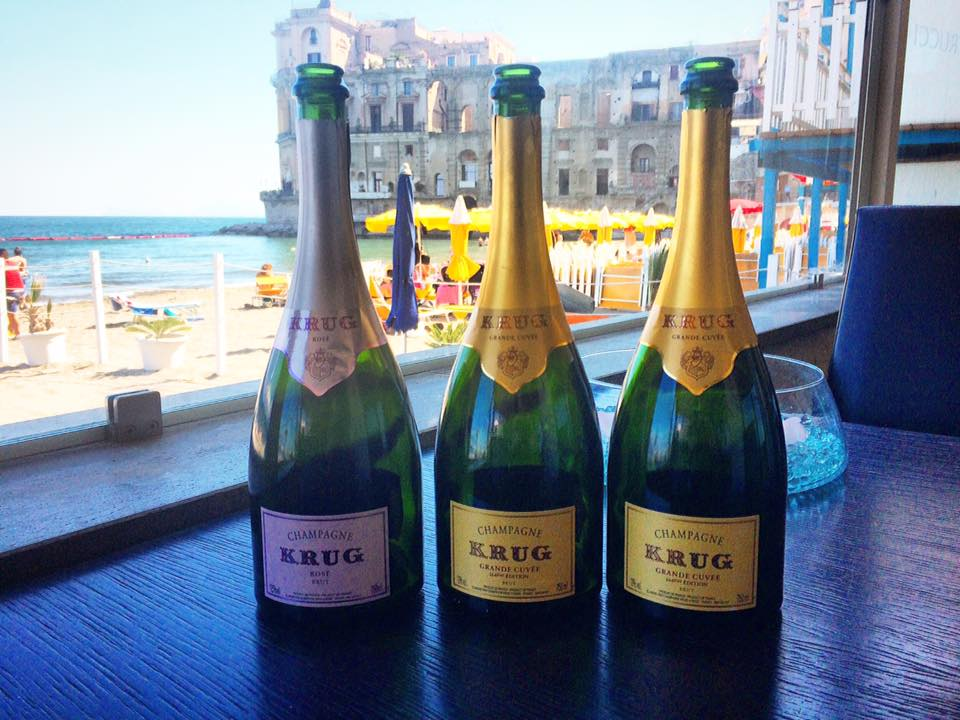 La LineUp Degli Champagne Krug Campania