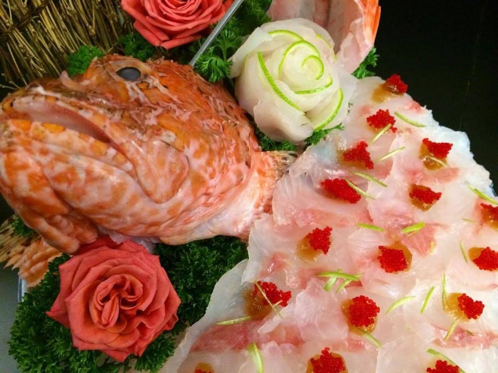 Sashimi Di Scorfano Rosso