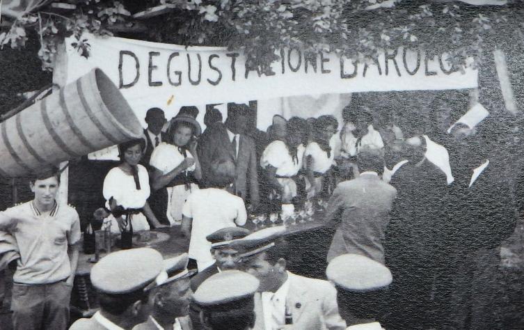 Festa del Barolo a Santa Maria 1967