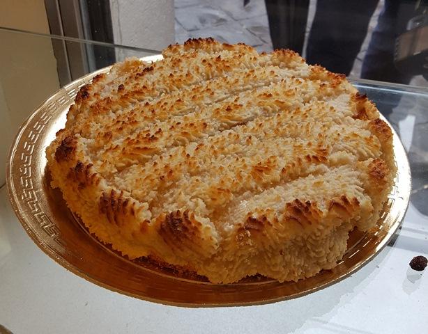 Forno Boccione- crostata di mandorle