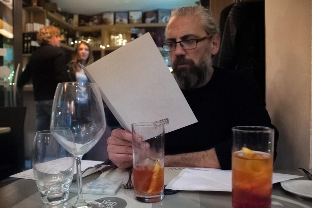 Fubi's - Uno sguardo alla carta con l'aperitivo