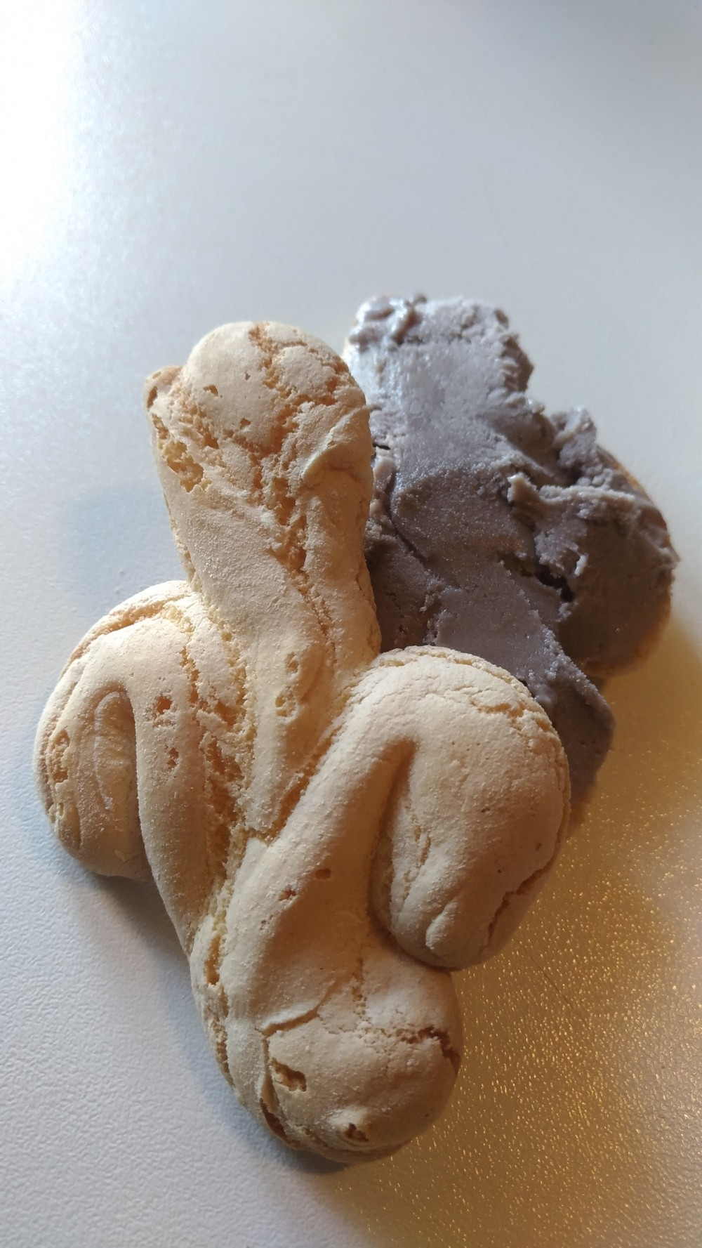 Greed Avidi di Gelato - Gelato di crema al passito Cesanese sul Giglietto