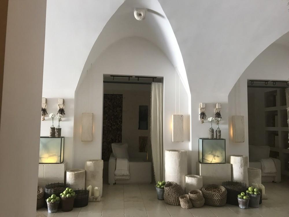 Borgo Egnazia, ristorante I due camini - l'ingresso
