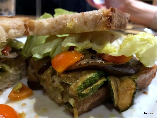 KeWine i  crostoni vegetariani