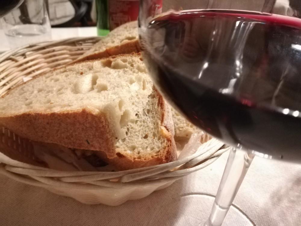 La Locanda della Pacchiana, vino e pane
