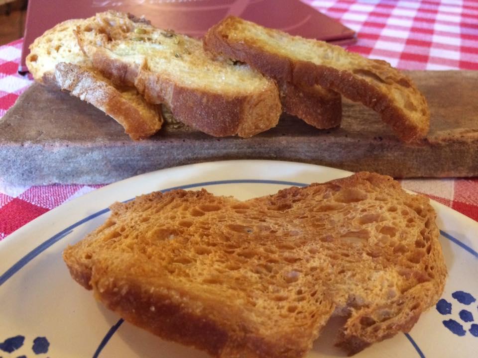 La Locandiera, chips di pane al finocchietto