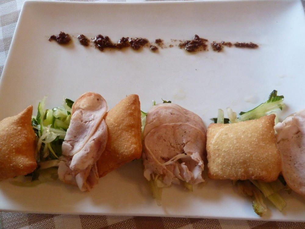 La Piazzetta, coniglio in porchetta