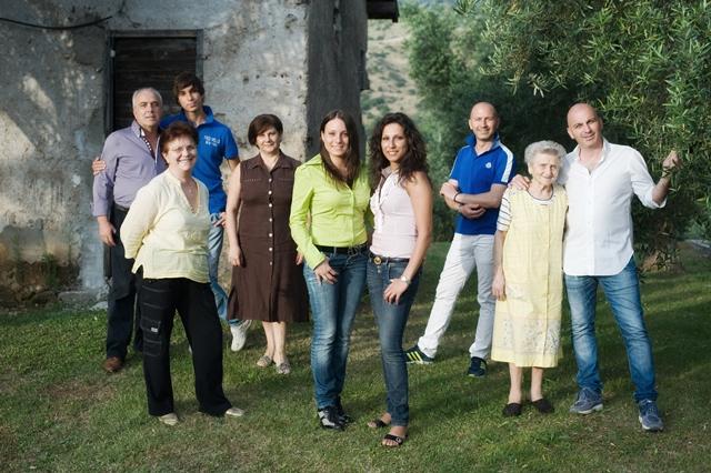 La famiglia Agnoni