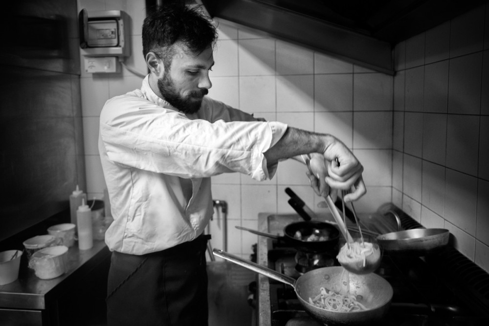 Lo chef Roberto Monopoli