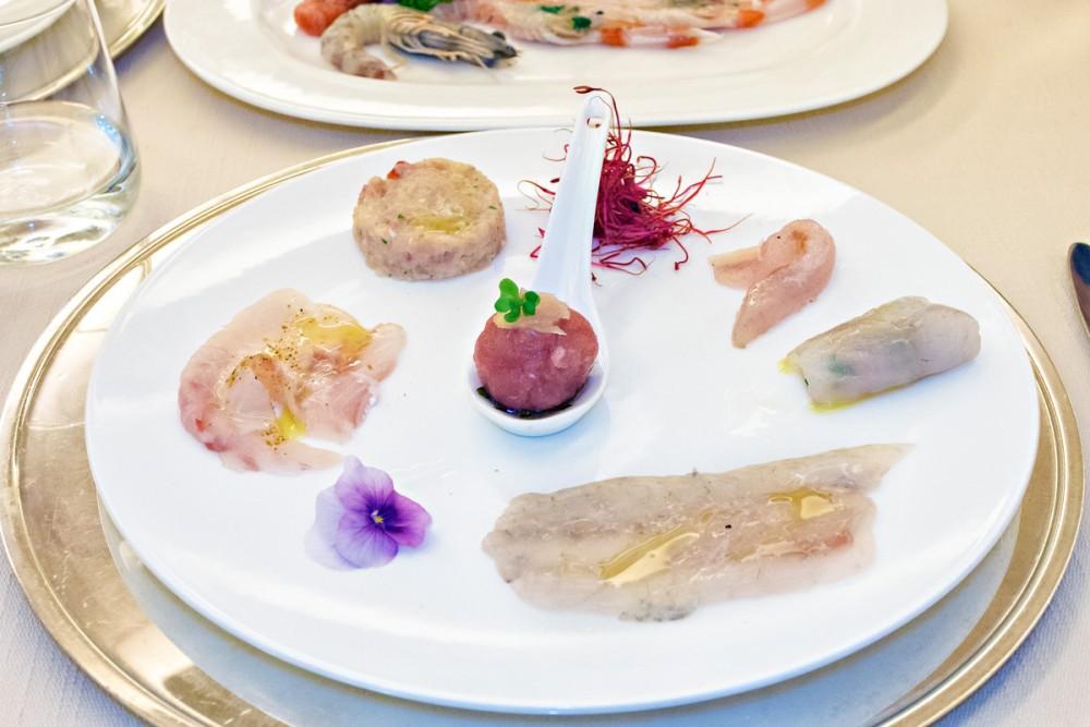 Lorenzo - Crudo. Il piatto principale