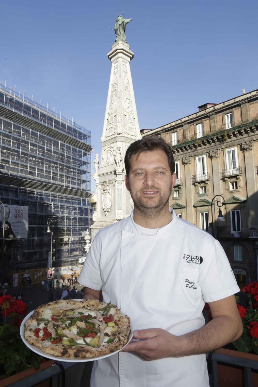 Paolo De Simone - Pizzeria Da Zero di Vallo della Lucania - foto di Renna e De Maddi
