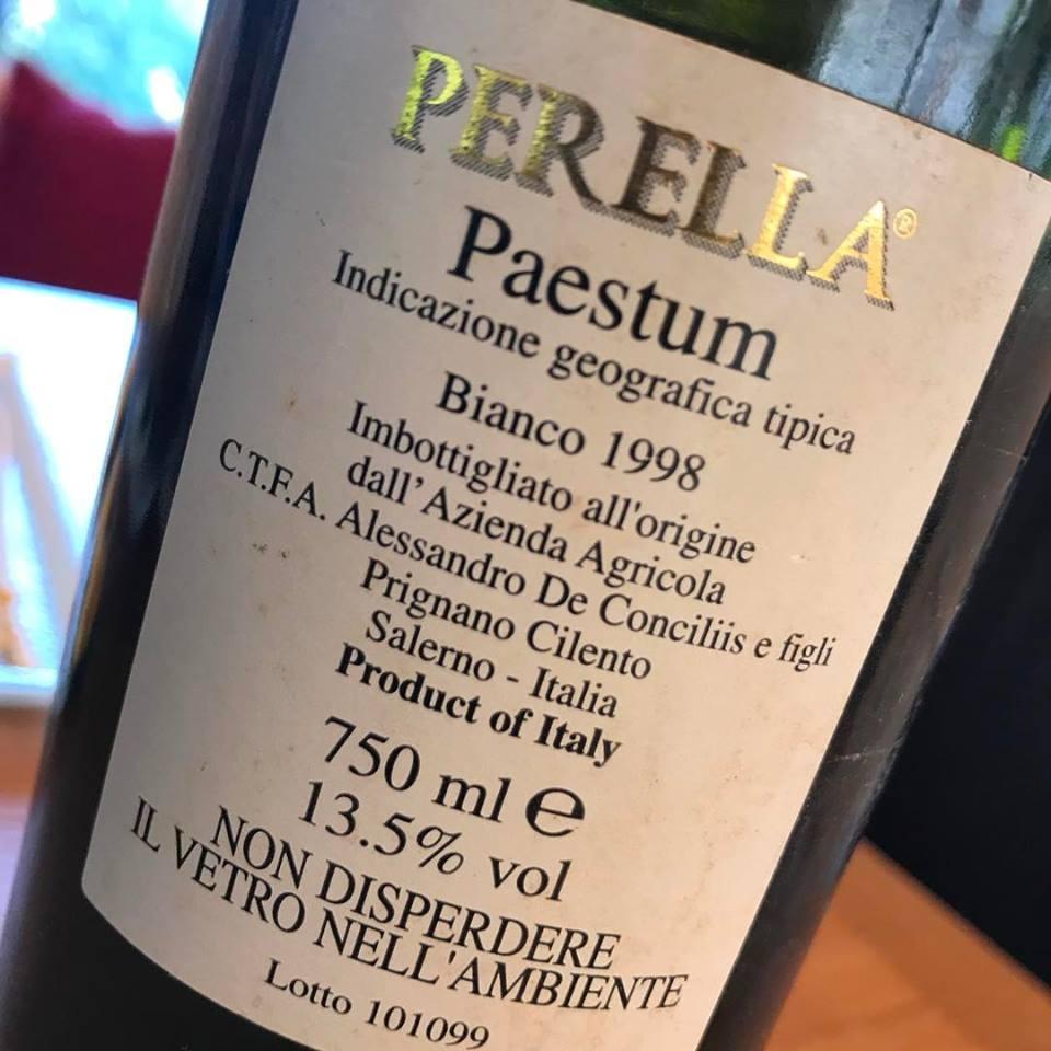 Perella 1998 Paestum igt