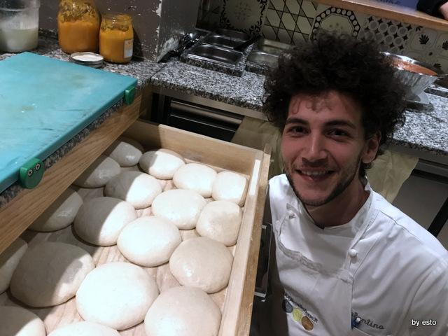 Pizzeria 3 Voglie Valentino Tafuri  gli impasti