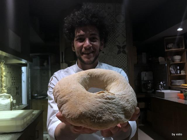 Pizzeria 3 Voglie Valentino Tafuri  il pane