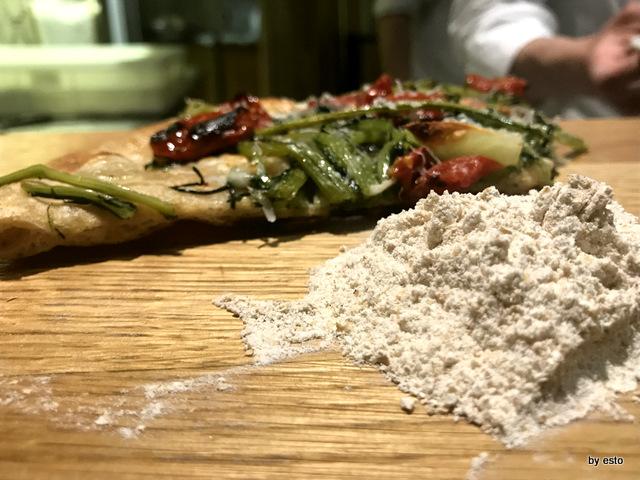 Pizzeria 3 Voglie Valentino Tafuri  le farine il progetto