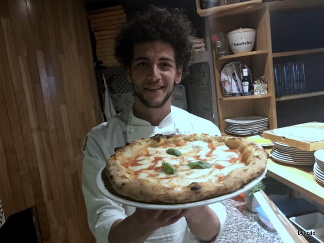 Pizzeria 3 Voglie Valentino Tafuri  pizza  Margherita