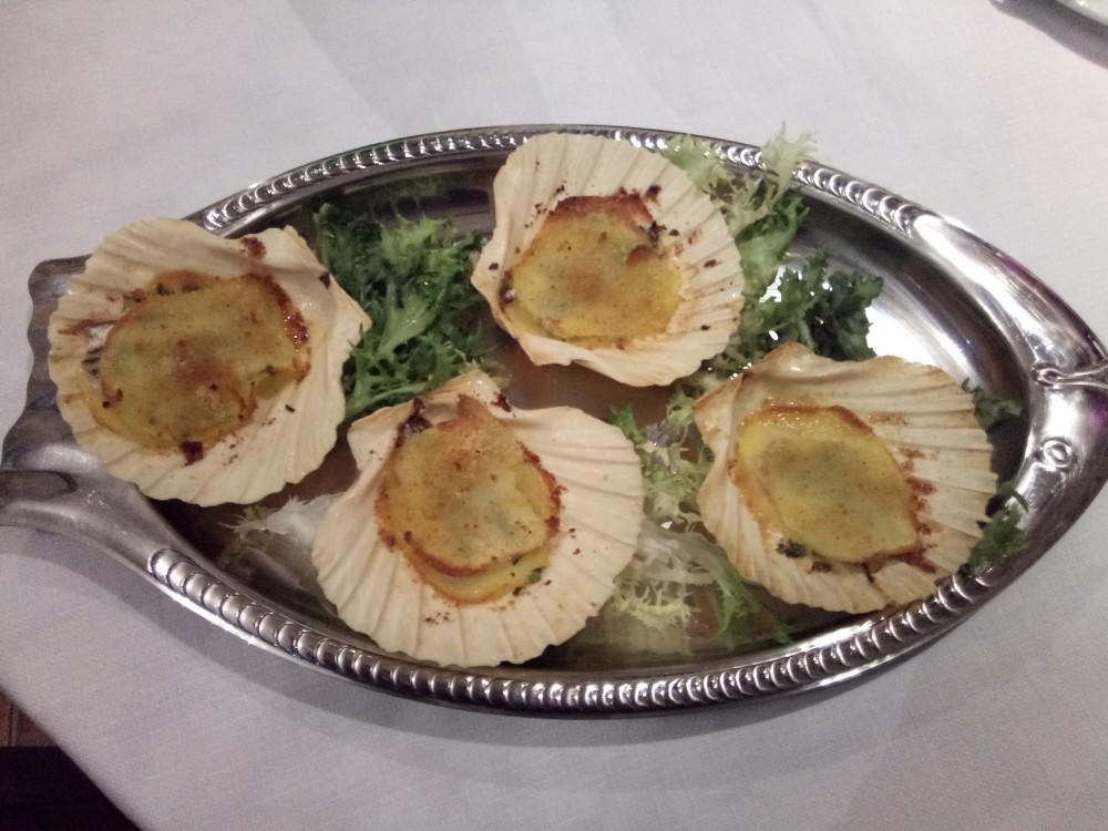 Ristorante Le Macine - Baccala' su letto di patate al forno
