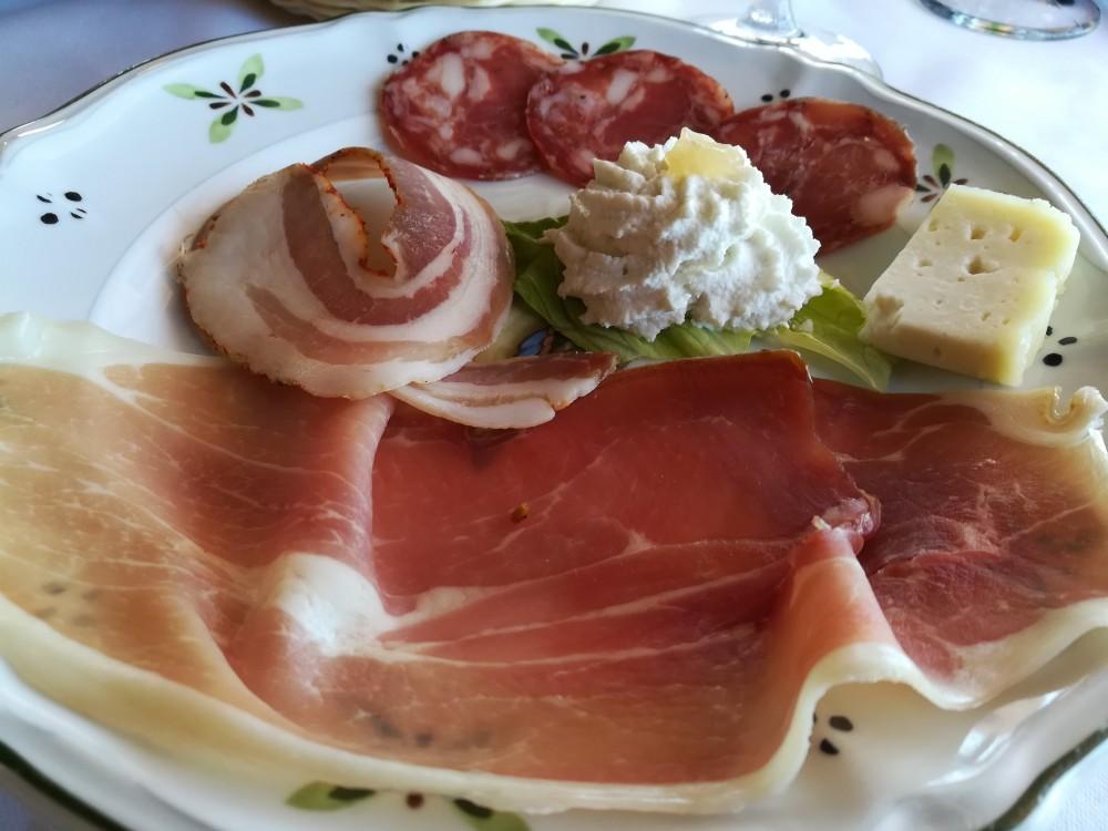 Ristorante del Borgo - Salumi e formaggi