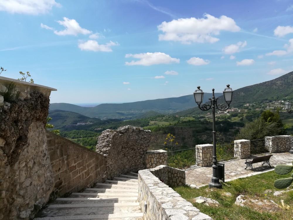 Ristorante del Borgo, il belvedere