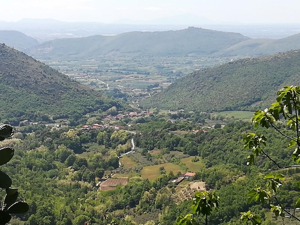 Ristorante del Borgo, la vallata