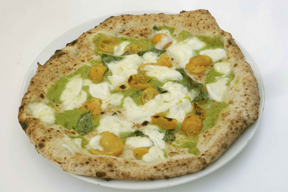La pizza 'San Pasquale' di Antonio Troncone