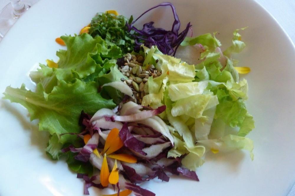 Trattoria Visconti, l'insalata dell'orto
