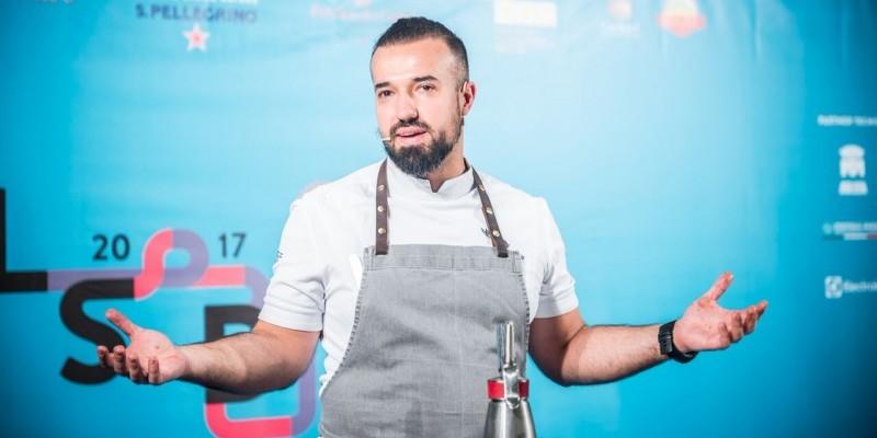 Vladimir Mukhin e la cucina russa a  LSDM10. Foto di Alessandra Farinelli.