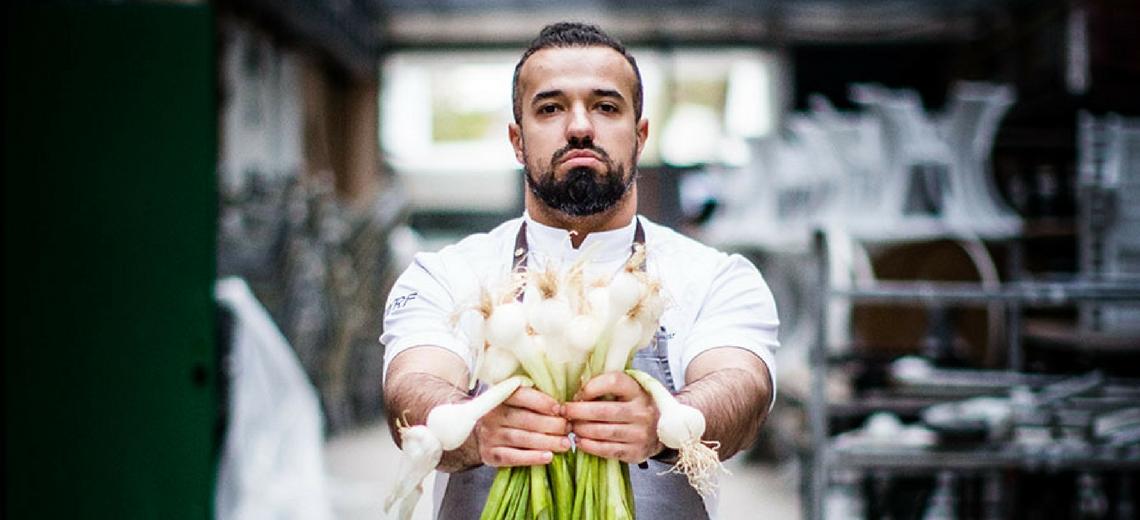 Vladimir Mukhin e la cucina russa  ad LSDM10. foto di Andrea Moretti
