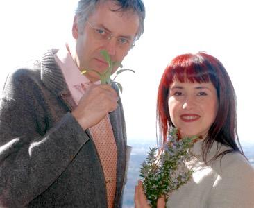 Walter Stuerz e la moglie Marinella