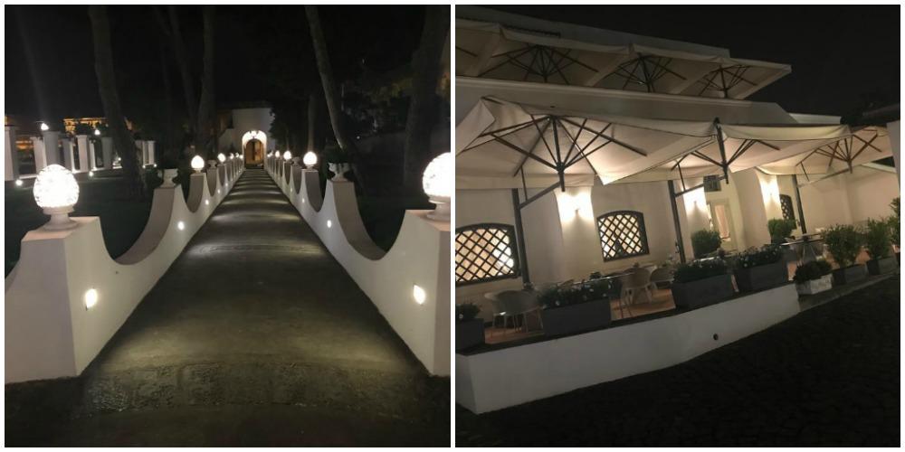 Jose' restaurant, viale e terrazza
