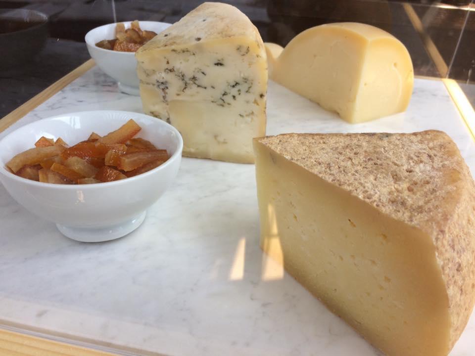 DUBL ristorante, formaggi